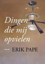 Erik Pape , Dingen die mij opvielen