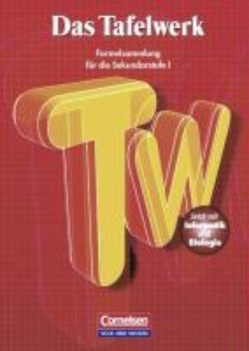 ,Das Tafelwerk 2001. Sekundarstufe. RSR. Neubearbeitung
