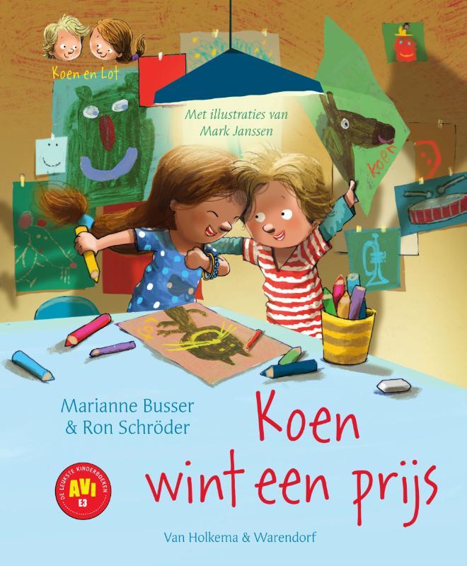 Marianne Busser, Ron Schröder,Koen wint een prijs