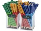 ,Potlood Grip 2001 2 kokers a 72 stuks in 3 kleuren