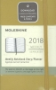 ,<b>Moleskine 12 month planner - weekly - pocket - maple yellow - hard cover</b>