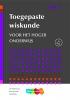 J.H.  Blankespoor, C. de Joode, A.  Sluijter,Toegepaste wiskunde voor het hoger onderwijs deel 1