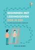 Sonja van Beveren,Beginnen met leidinggeven doe je zo!