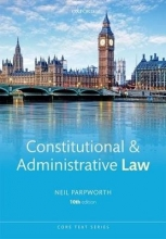 Parpworth, Neil Constitutional and Administrative Law