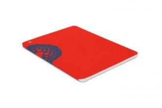 Plumb Notebooks Blue on Red Wraparound
