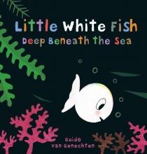 Guido van Genechten , Little white fish deep beneath the sea