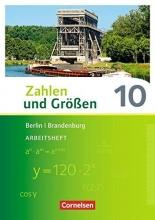 Zahlen und Größen 10. Schuljahr - Berlin und Brandenburg - Arbeitsheft mit Online-Lösungen