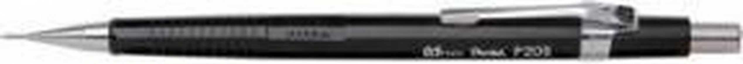 , Vulpotlood pentel P205 0.5mm zwart