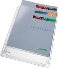 , Showtas Leitz 4756 11-gaats PVC 0.17mm glad met expansievouw