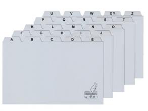 , Alfabet HF2 110x150mm PP grijs