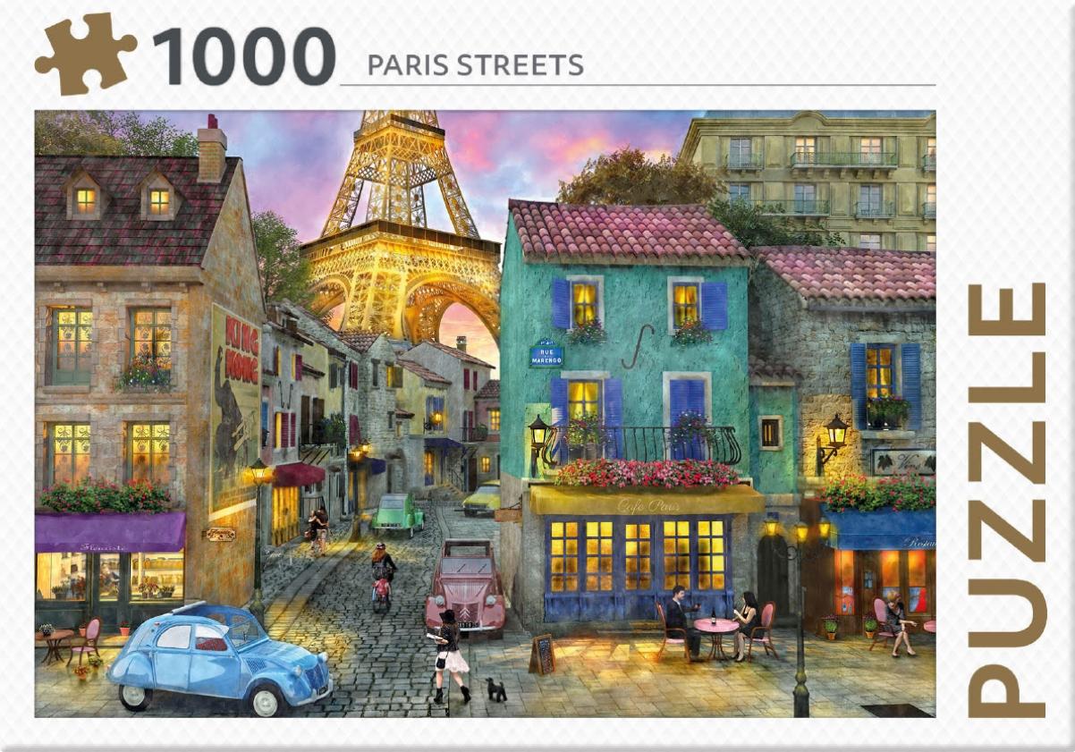 ,Paris Streets - puzzel 1000 st