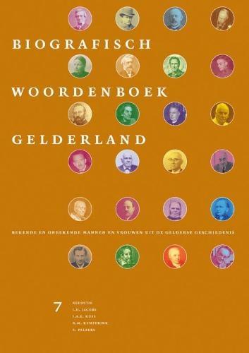 ,Biografisch Woordenboek Gelderland 7