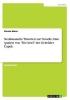 Meier, Florian, Neoklassische Theorien zur Novelle.  Eine Analyse von