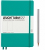 Lt344793 , Leuchtturm notitieboek medium 145x210 blanco emerald green