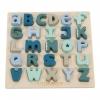 <b>Tia-Ld4370</b>,Little Dutch Houten Letters Puzzel Blauw