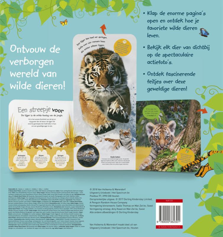 Dorling Kindersley,Het supergrote uitklapboek vol dieren