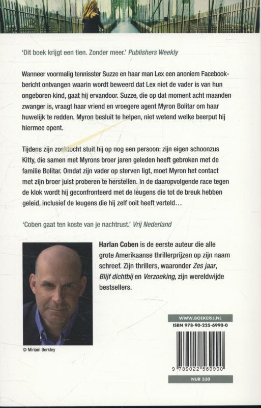 Harlan Coben,Levenslijn