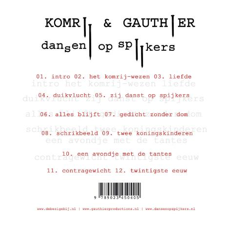 Gerrit Komrij,Dansen op spijkers