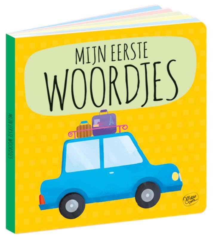 ,Puzzeltrein 20 stukjes en boek - Mijn eerste woordjes