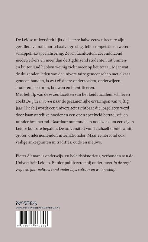 Pieter Slaman,De glazen toren