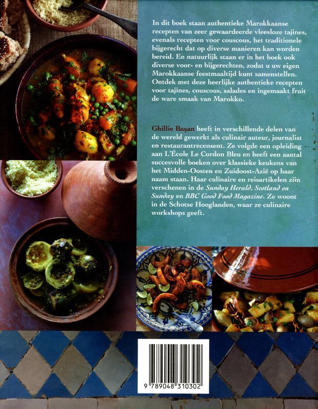 Ghillie Basan,Vegetarische tajines en couscous
