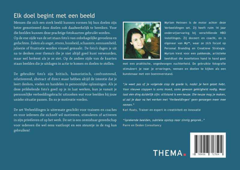 Myriam Heinsen,Verbeeldingen