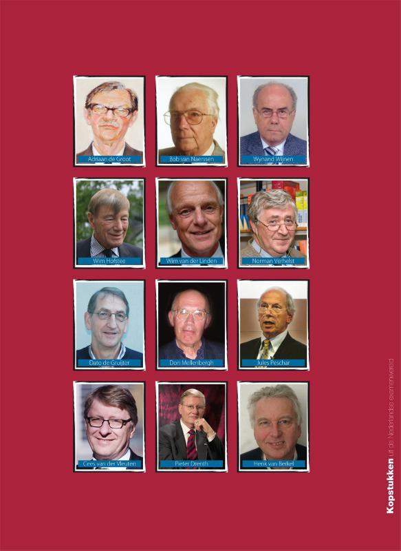Henk van Berkel, Annemarie de Knecht-van Eekelen,Kopstukken uit de Nederlandse examenwereld