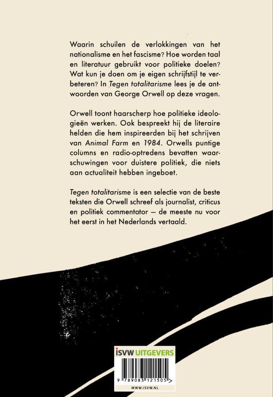 George Orwell,Tegen totalitarisme