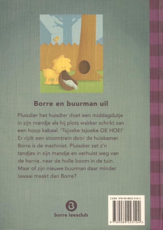 Jeroen Aalbers,Borre en buurman uil