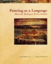 Robertson, Jean Painting As a Language