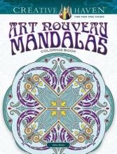 John Alves Creative Haven Art Nouveau Mandalas Coloring Book