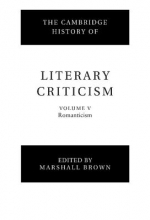 Brown, Marshall The Cambridge History of Literary Criticism