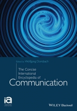 Wolfgang Donsbach The Concise Encyclopedia of Communication