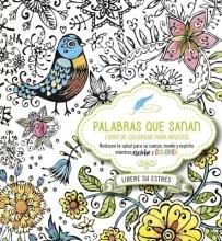 Casa Creacion Palabras Que Sanan - Diario de Oracion y Libro de Colorear Healing Words