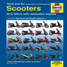 Phil Mather Twist And Go (Automatic Transmission) Scooters Service And Repair Manual