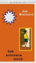 Brainard, Joe Ich erinnere mich