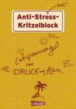 Haubner, Antje Anti-Stress Kritzelblock