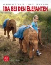 Stolpe, Marika Ida bei den Elefanten