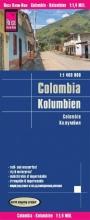 , Reise Know-How Landkarte Kolumbien  1 : 1 400 000