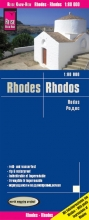 Reise Know-How Verlag Peter Rump, Reise Know-How Landkarte Rhodos Rhodes (1:80.000)