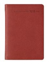 Taschenkalender Mini Tucson rot 2018 - Bürokalender Taschenplaner (8 x 11,5) - 1 Woche 2 Seiten - 144 Seiten