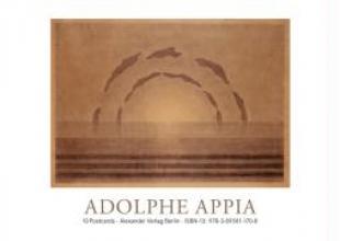 Appia, Adolphe Adolphe Appia Postkartenbuch