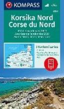 , Korsika Nord, Corse du Nord, Weitwanderweg GR20 1 : 50 000
