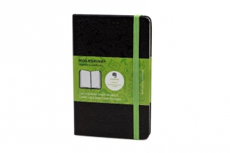 Moleskine Pocket Ruled Black Hard Evernote Notebook