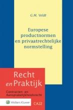 G.M. Veldt , Europese productnormen en privaatrechtelijke normstelling