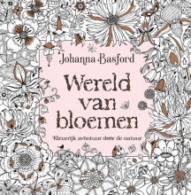 Johanna  Basford Wereld van bloemen