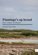 Jannet  Butter Flamingo`s op brood