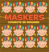 Maskers Cowboys en Indianen