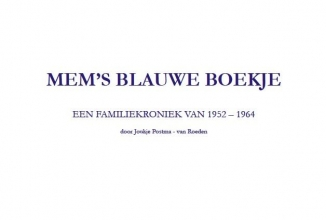 Joukje  Postma - van Roeden Mems blauwe boekje