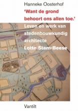 Hanneke H. Oosterhoff , 'Want de grond behoort ons allen toe.'